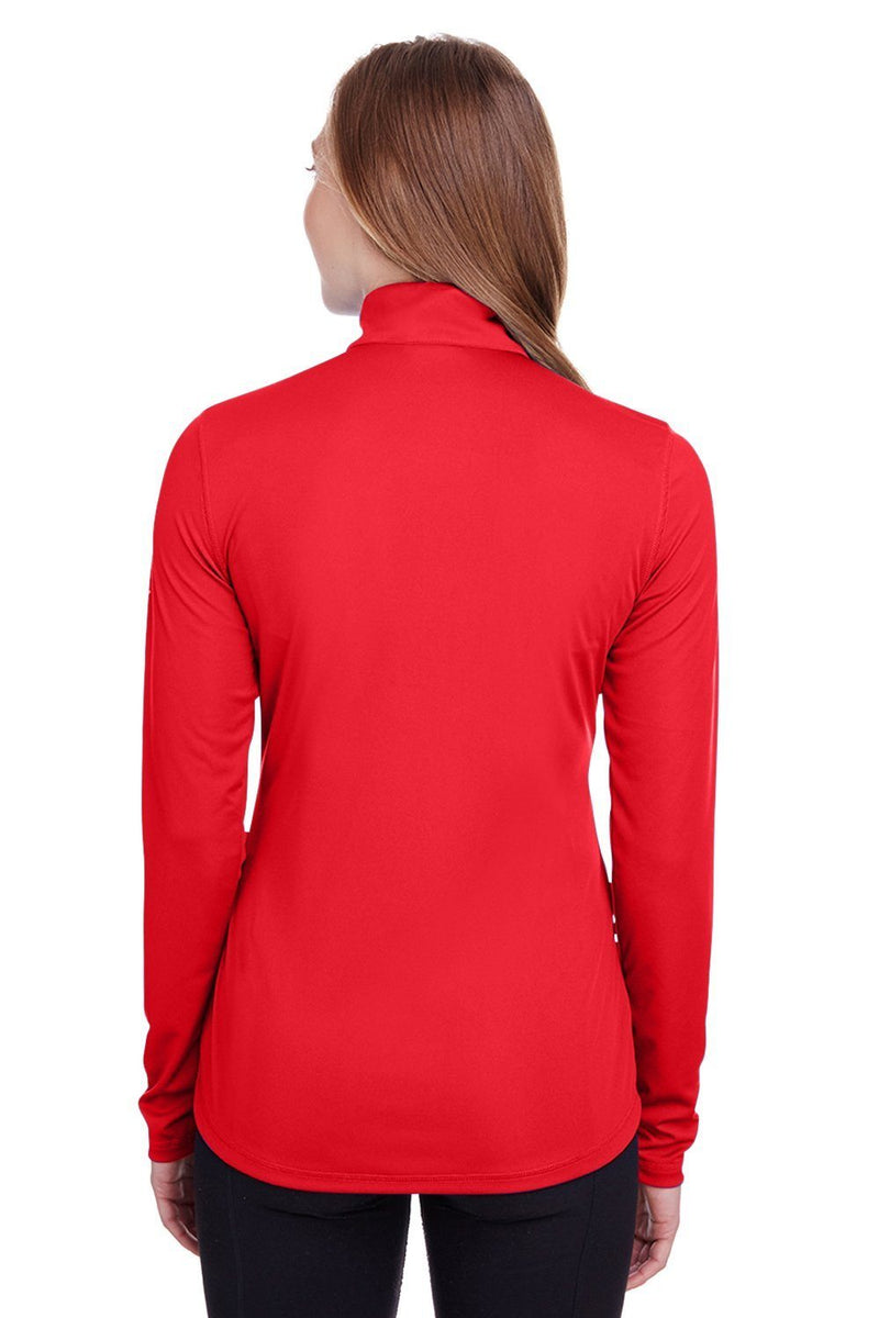 Firebrick Puma Women's Icon Performance Moisture Wicking Full Zip Sweatshirt