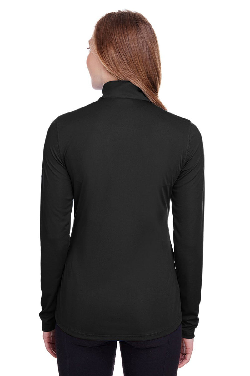Dark Slate Gray Puma Women's Icon Performance Moisture Wicking Full Zip Sweatshirt
