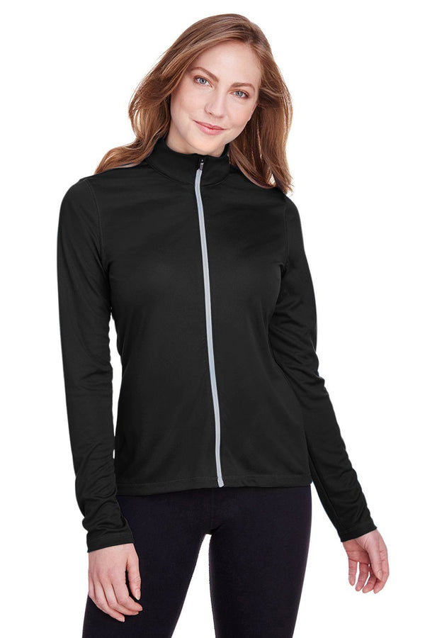 Puma Womens Icon Performance Moisture Wicking Full Zip Sweatshirt Womens Sweatshirts Puma XS Black