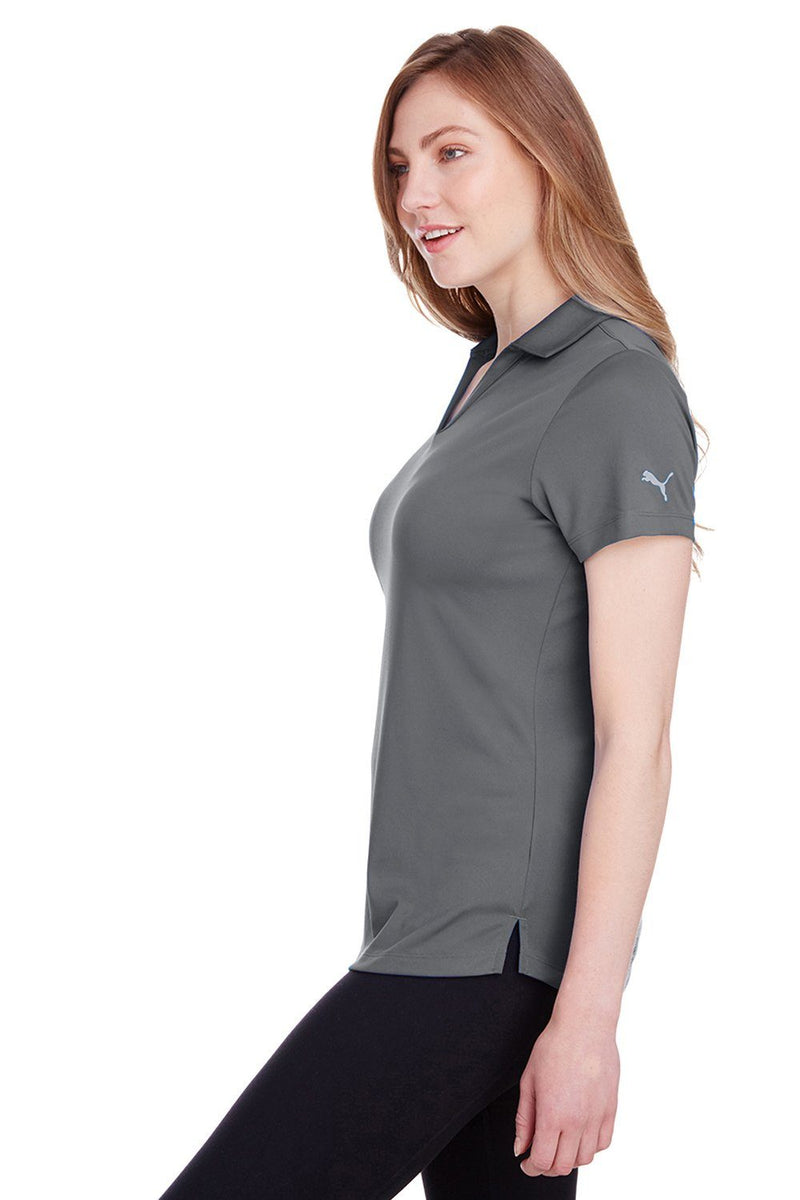 Puma Womens Icon Performance Moisture Wicking Short Sleeve Polo Shirt Womens Polo Shirts Puma