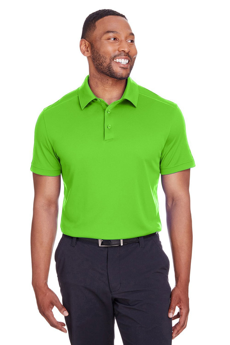Yellow Green Spyder Men's Freestyle Short Sleeve Polo Shirt