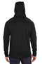 Black Spyder Men's Hayer Fleece Hooded Sweatshirt