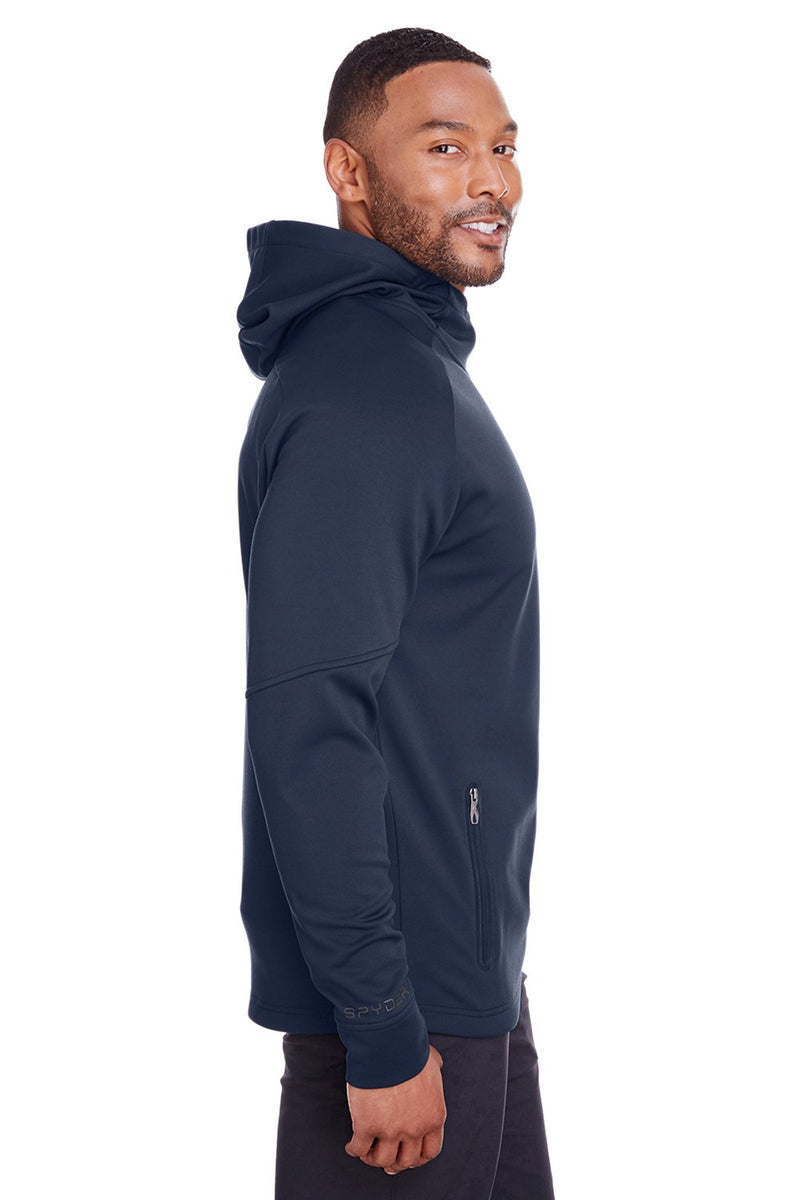 Spyder Men's Hayer Fleece Hooded Sweatshirt