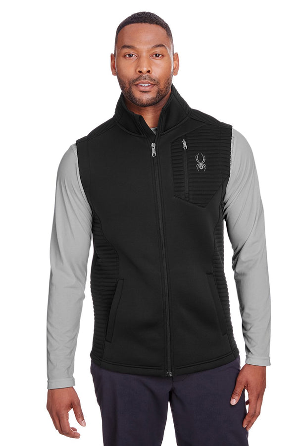 White Spyder Men's Venom Full Zip Vest