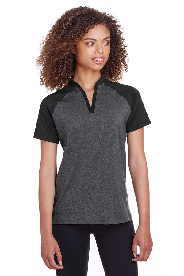 Snow Spyder Women's Peak Short Sleeve Polo Shirt