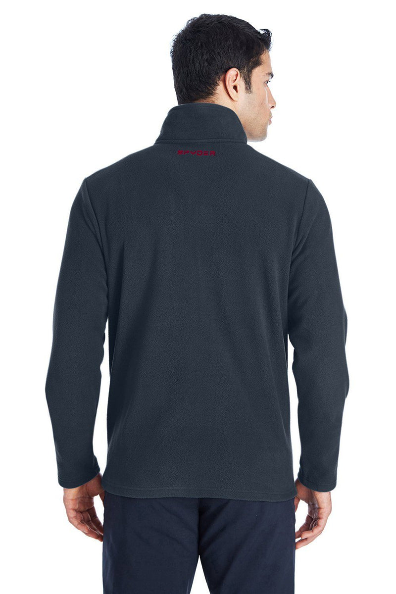Spyder Mens Transport 1/4 Zip Fleece Jacket Mens Fleece Jackets Spyder