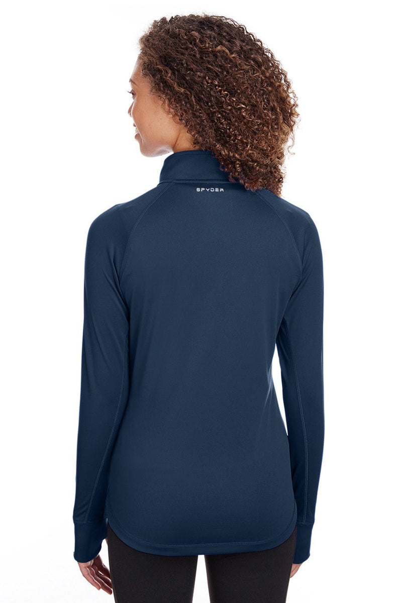 Spyder Womens Freestyle 1/4 Zip Sweatshirt Womens Sweatshirts Spyder