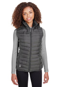 White Spyder Women's Supreme Full Zip Hooded Puffer Vest