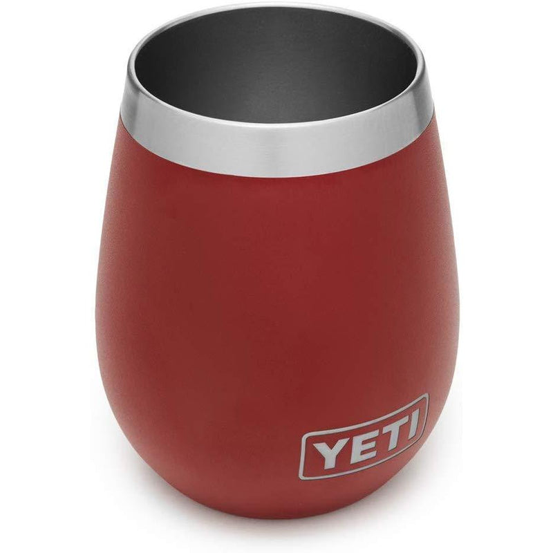 Brown YETI Rambler 10 Oz Wine Tumbler