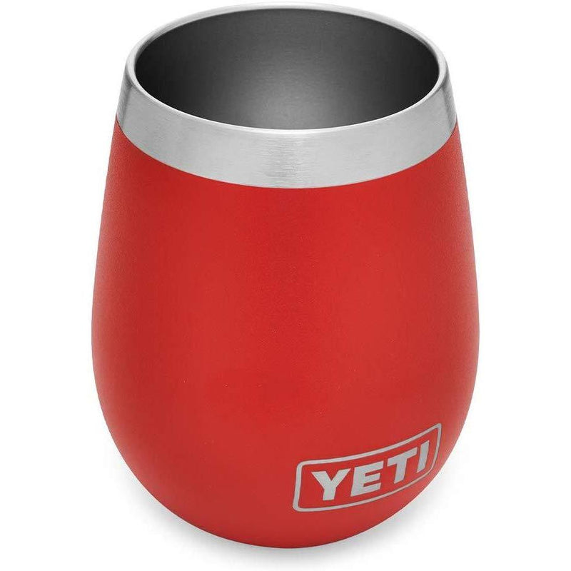 YETI Rambler 10 Oz Wine Tumbler Tumblers YETI Canyon Red