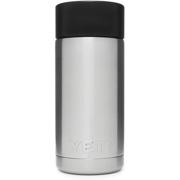 Gray YETI Rambler 12 Oz Bottle w/ Hot Shot Cap
