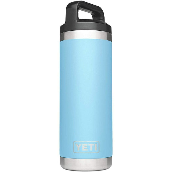 Sky Blue YETI Rambler 18 Oz Bottle