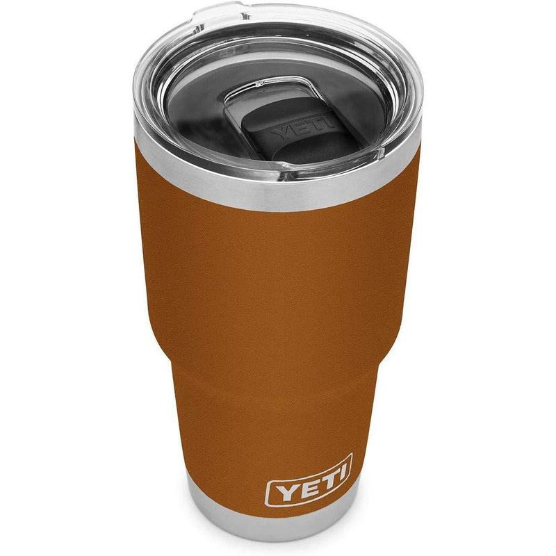 Saddle Brown YETI Rambler 30 Oz Tumbler w/MagSlider Lid