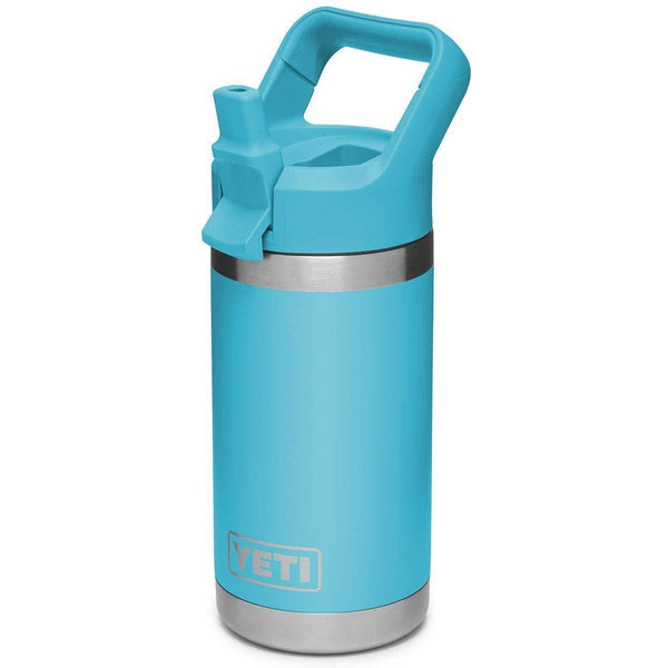 Sky Blue YETI Rambler Jr. 12 Oz Kids Bottle w/ Straw Cap