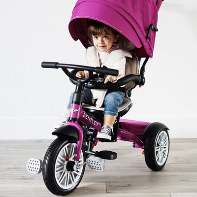 BENTLEY MOTORS LICENCED 6-IN-1 BABY STROLLER/TODDLER TRIKE NOW AVAILABLE IN NORTH AMERICA