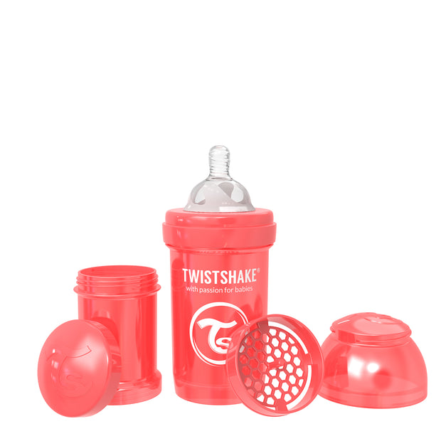 Twistshake Anti Colic Baby Bottles - Pearl Collection