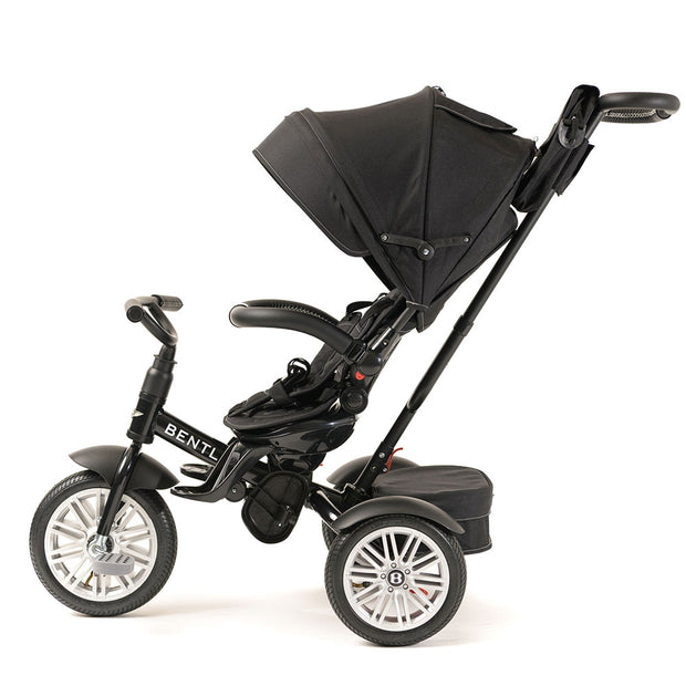 ONYX BLACK BENTLEY 6 IN 1 STROLLER TRIKE - Luxury Bentley Trike