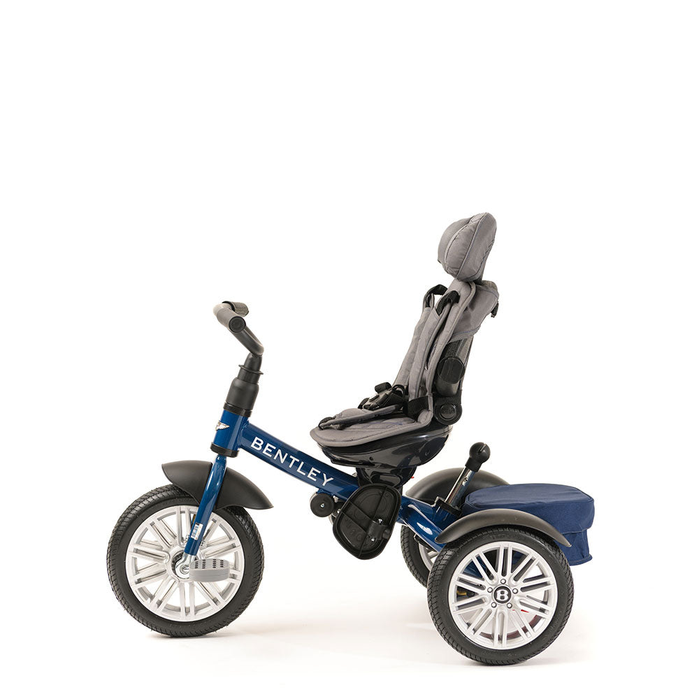 SEQUIN BLUE BENTLEY 6 IN 1 STROLLER TRIKE