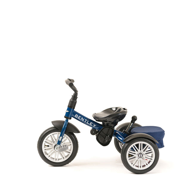 SEQUIN BLUE BENTLEY 6 IN 1 STROLLER TRIKE - Luxury Bentley Trike for Kids