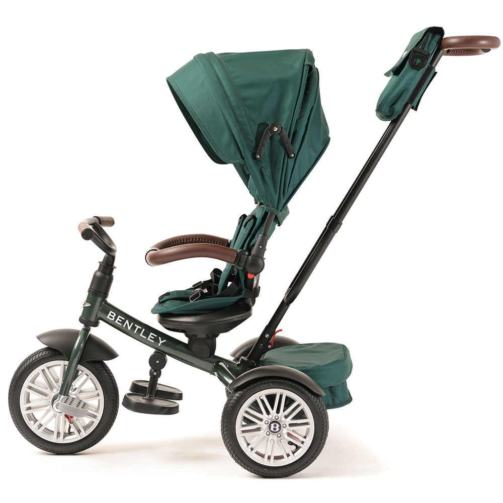SPRUCE GREEN BENTLEY 6 IN 1 STROLLER TRIKE - Luxury Bentley Stroller Trike
