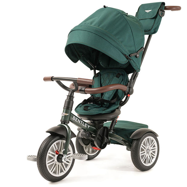 SPRUCE GREEN BENTLEY 6 IN 1 STROLLER TRIKE - Luxury Bentley Tricycle