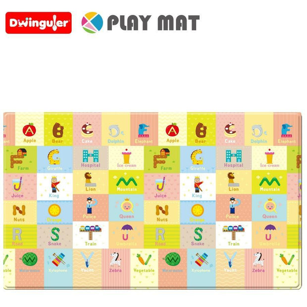 Reversible Dwinguler Playmat - Big Town - Large Baby Mat