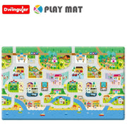 Dwinguler Playmat - Big Town - Large Baby Playmat