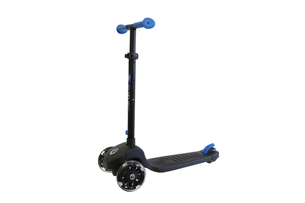 Blue Future LED light scooter