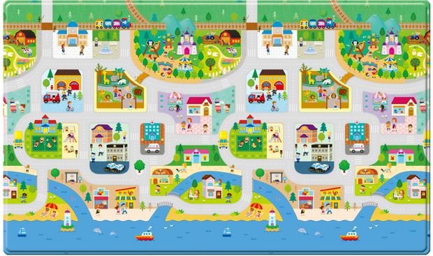 Dwinguler Playmat - Big Town - Large