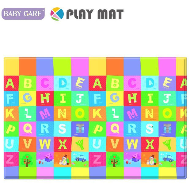 Baby Care Playmat - Happy Village - Large baby mat