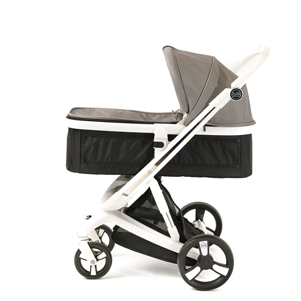 Gray Milkbe Carry Cots for Luxury Milkbe Strollers