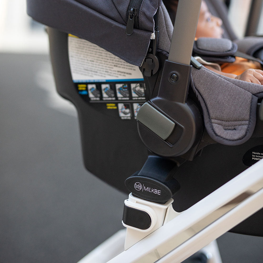 MIlkbe Car Seat Adapter for Smart Milkbe Strollers