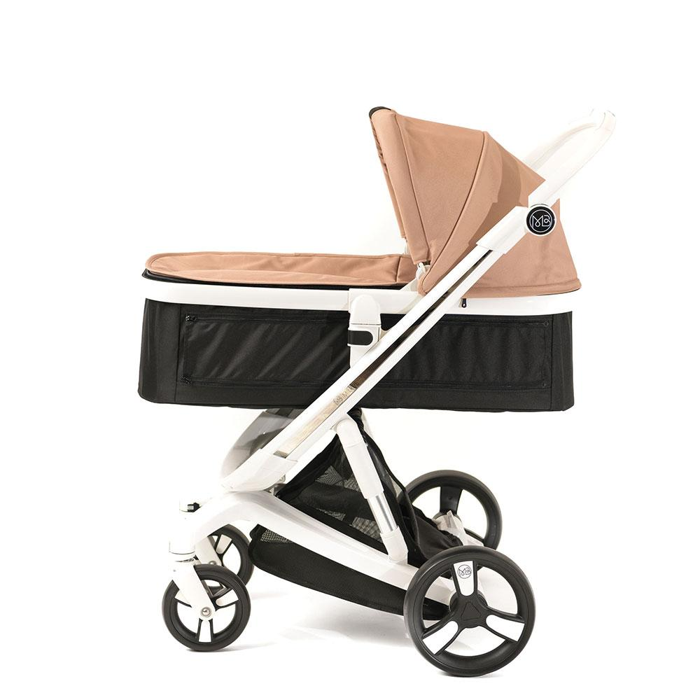 Milkbe Stroller Bundle - a Pram, a Buggy, a Pushchair - Gold