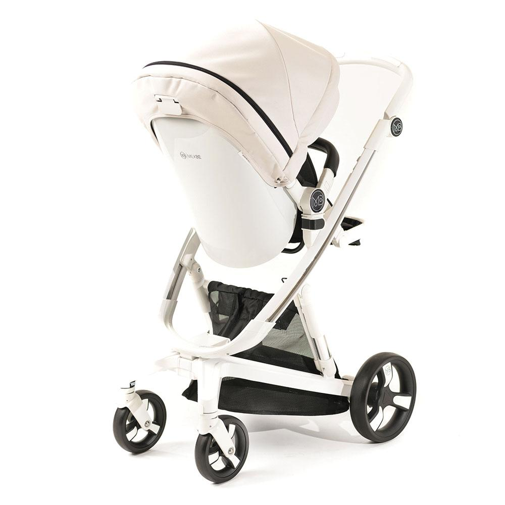 Milkbe Bundle Includes A Pram, a Buggy, a Pushchair - Beige
