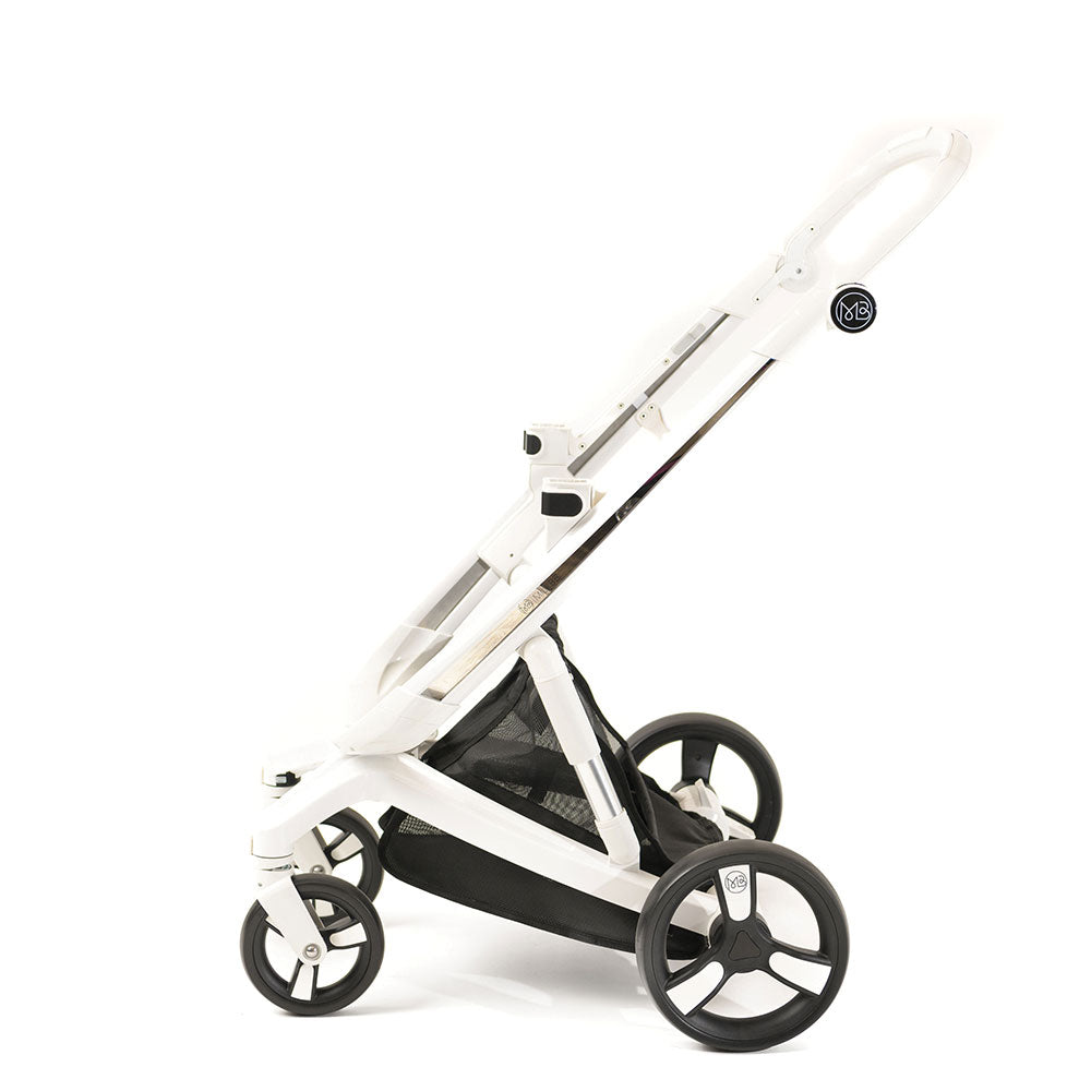 Black Milkbe Lullaby Stroller - Convertible Self Stopping Stroller