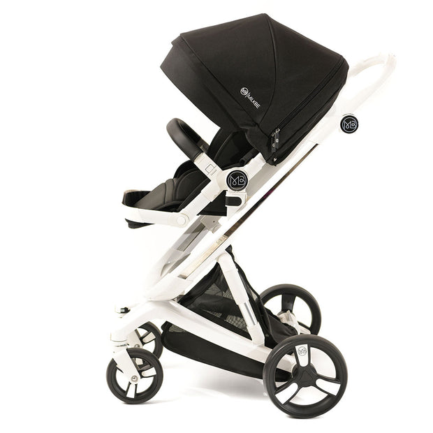 Black Milkbe Smart Self-Stopping Stroller