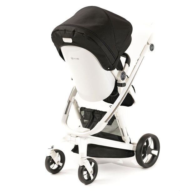 Black Milkbe Lullaby Self-Stopping Strollers