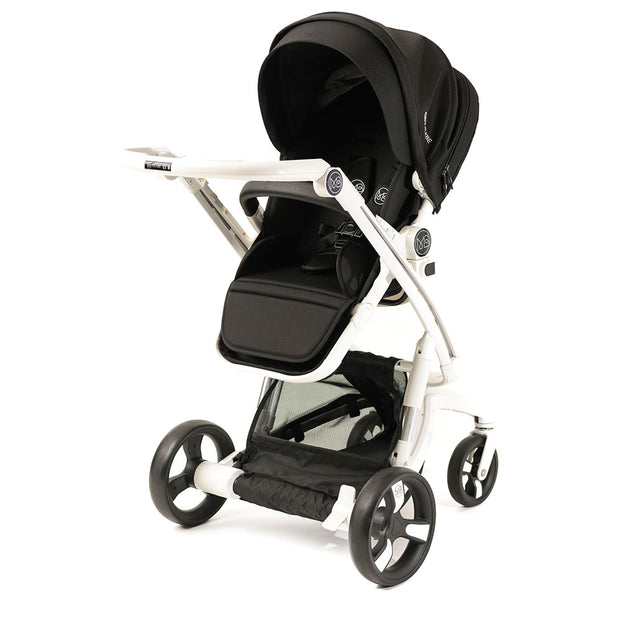 Black Milkbe Lullaby Strollers - Luxury Self Stopping Strollers