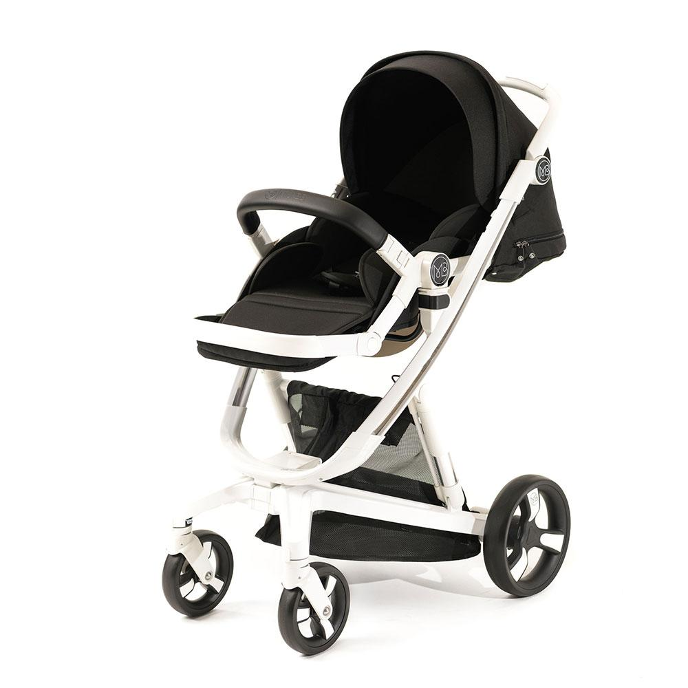 Milkbe Bundle - A Pram, a Buggy, a Pushchair Black