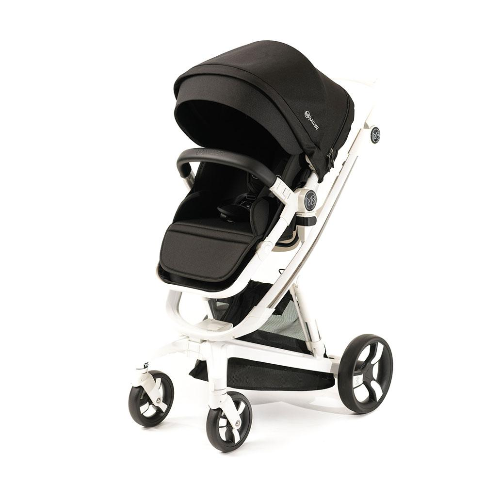 Convertible Milkbe Bundle - A Pram, a Buggy, a Pushchair - Black