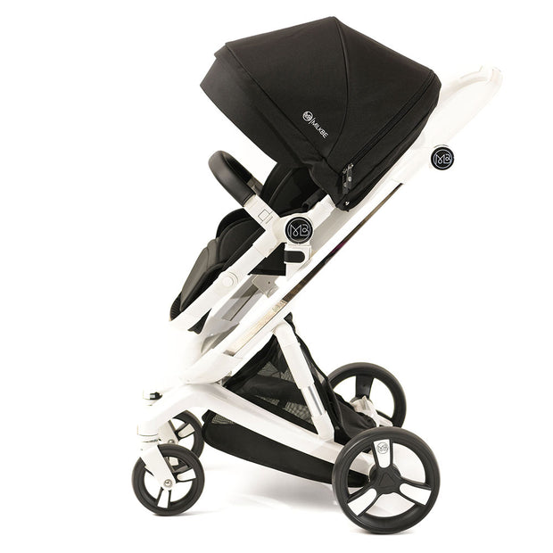 Milkbe Lullaby Self-Stopping Stroller - Black
