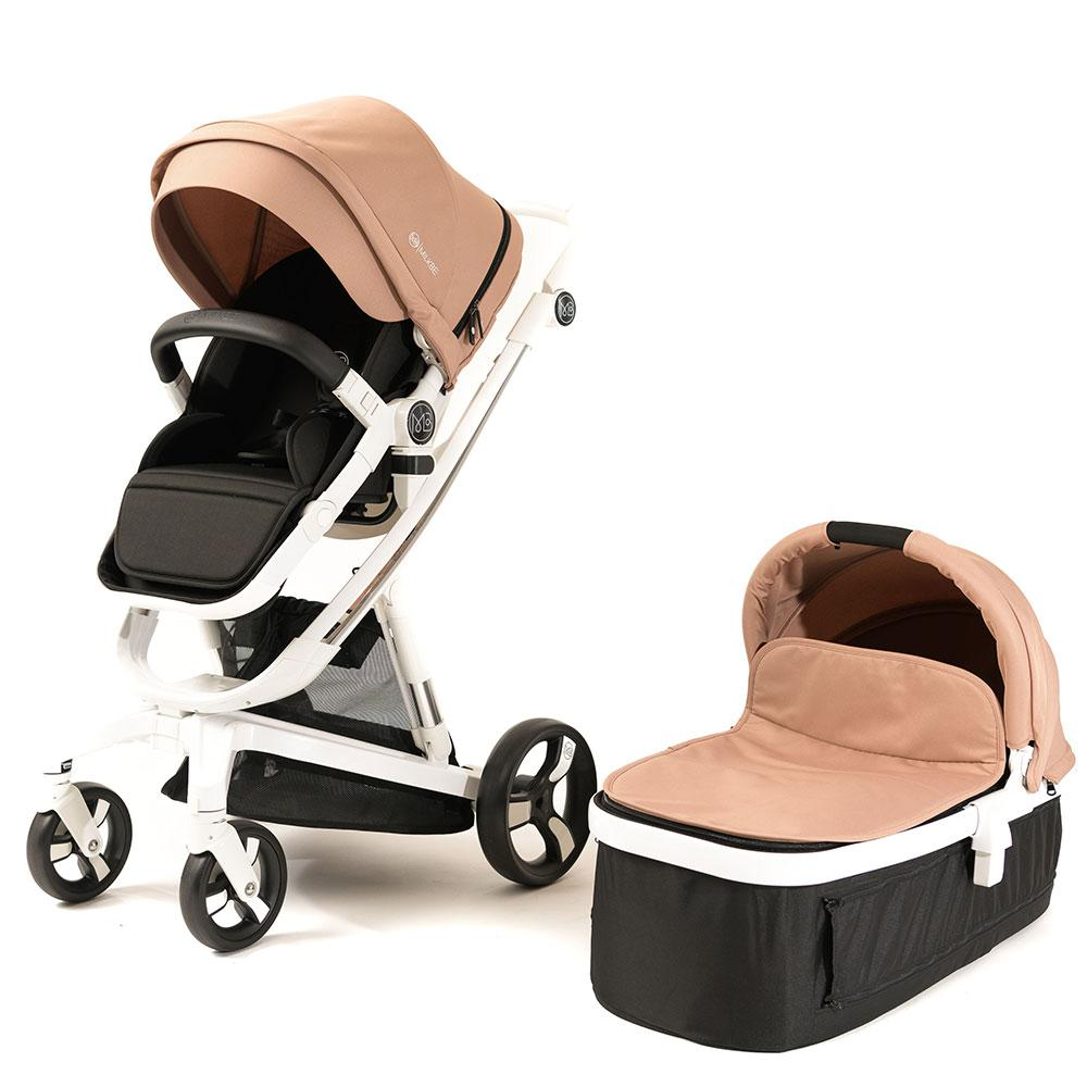 Milkbe Bundle - a Pram, a Buggy, a Pushchair - Gold