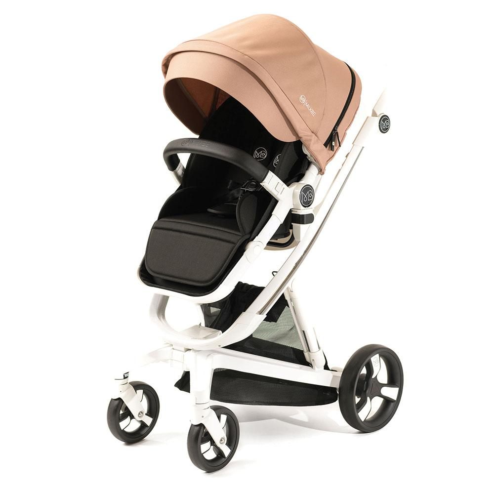 Milkbe Bundle includes a Pram, a Buggy, a Pushchair - Gold