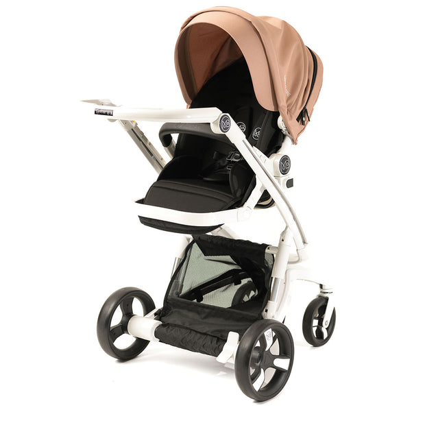 Milkbe Lullaby Self-Stopping Stroller - Gold