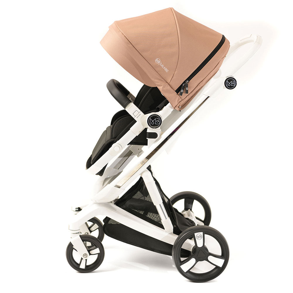 Gold Milkbe Lulaby Stroller - Folding Self Stopping Strollers