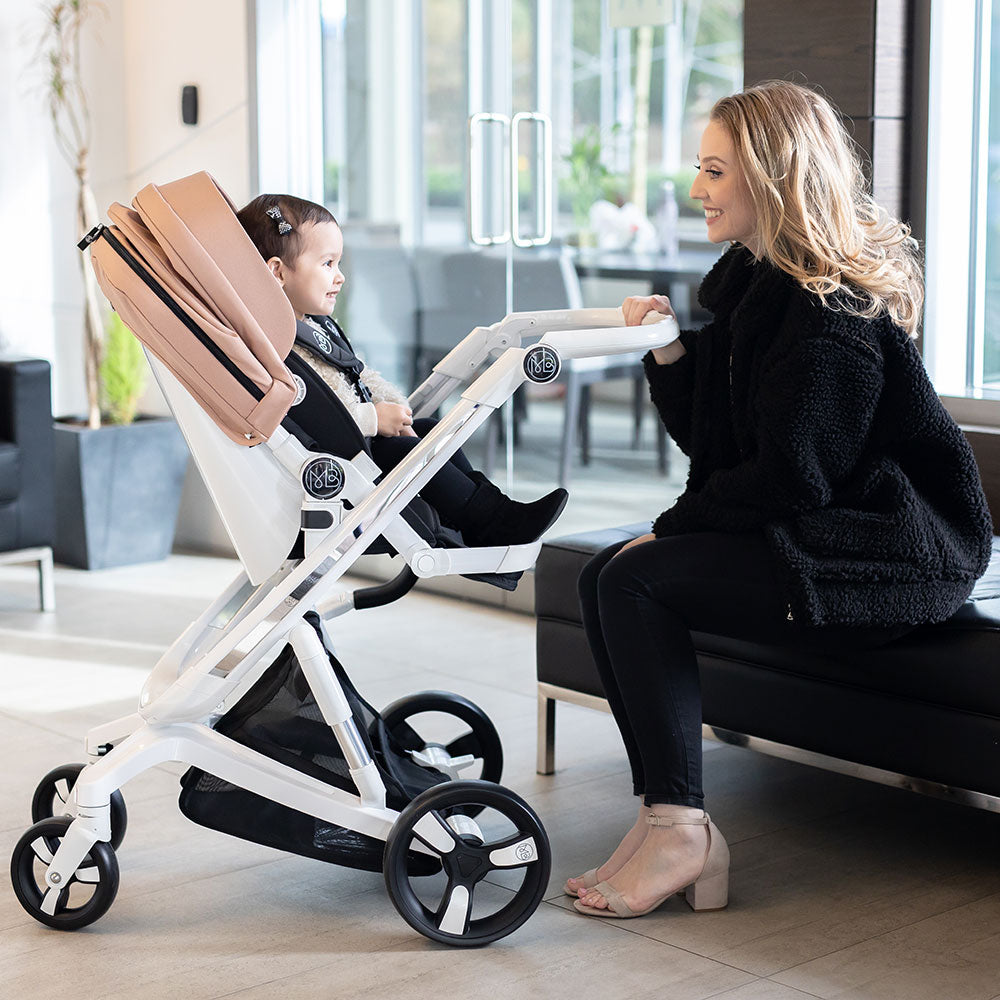 Gold Milkbe Lullaby Self-Stopping Strollers