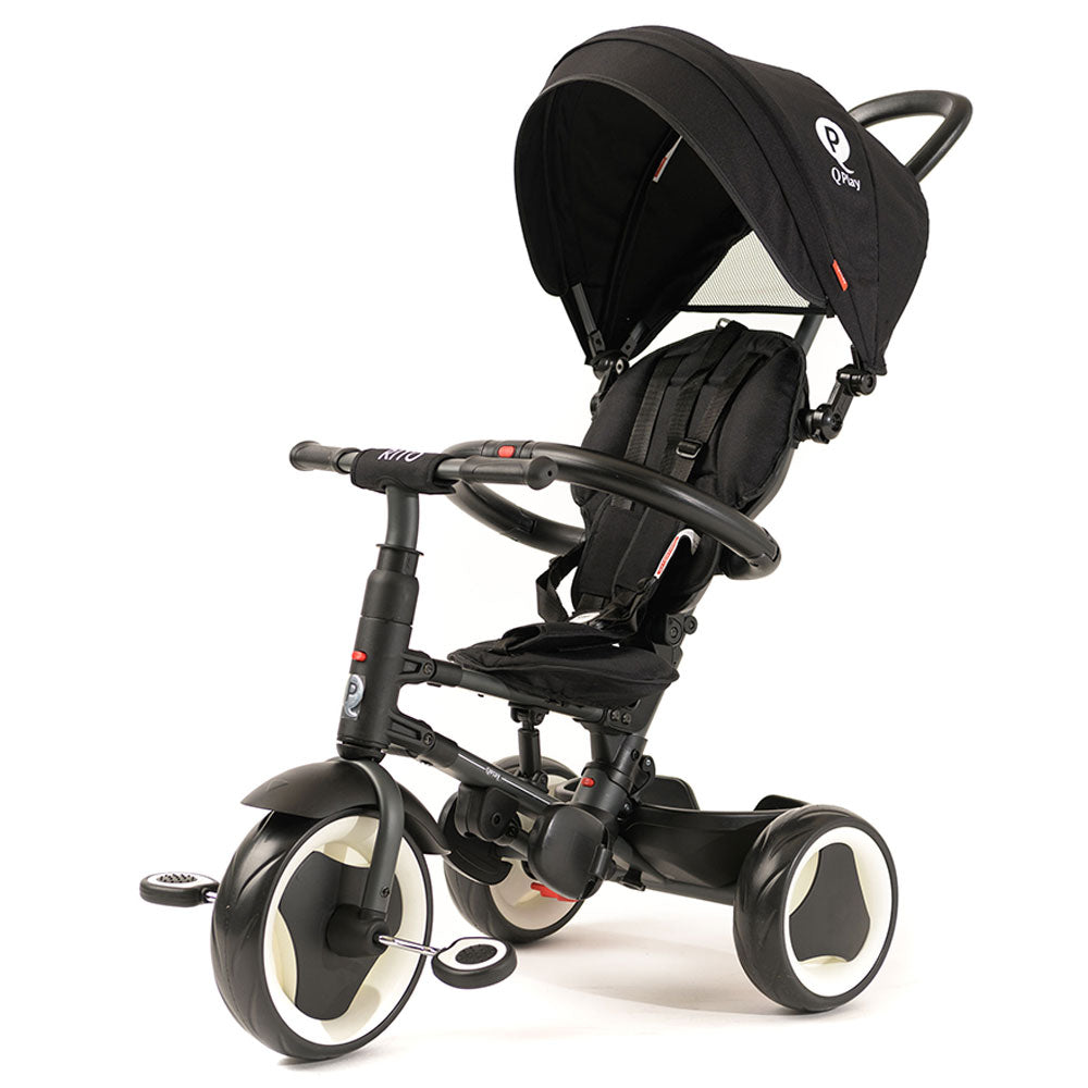 Black Rito Ultimate Folding Stroller Trike