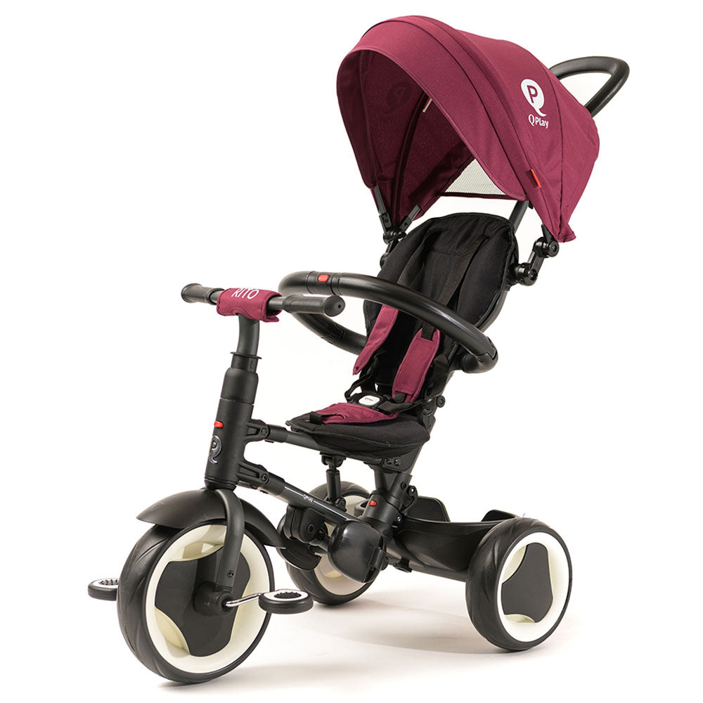 Burgundy Rito Plus Ultimate Folding Trike