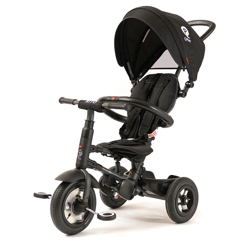 Black Rito Plus Ultimate Folding Trike
