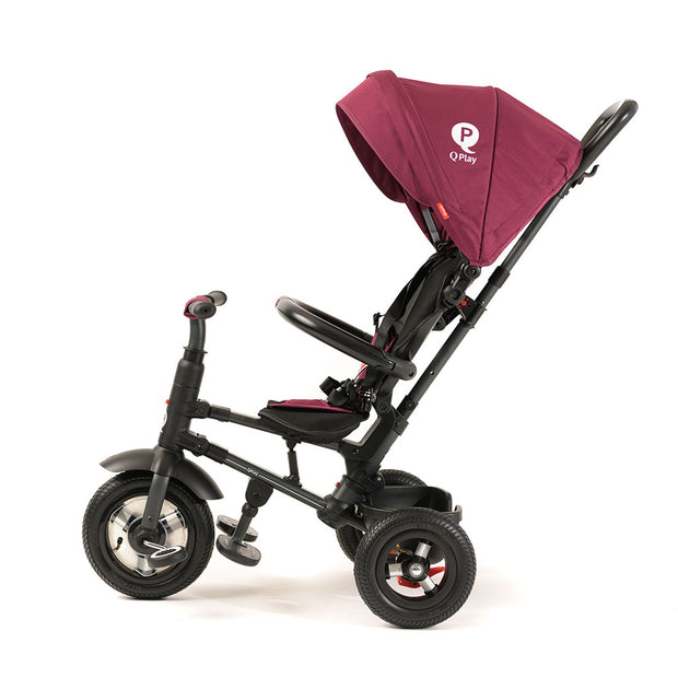BURGUNDY RITO PLUS FOLDING TRIKE - Smart Stroller Trike for Kids